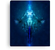 Transhuman Ascension Canvas Print