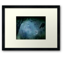 Meeting Of Old Friends Framed Print
