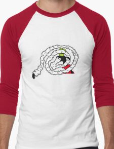 Gooby Needs Help (Cansur) T-shirt and Sticker Men's Baseball ¾ T-Shirt
