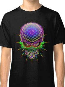 Crazy Skull Psychedelic Explosion Classic T-Shirt