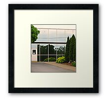 When Reality and Reflection Compliment Each Other Framed Print