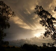 skyscapes #65, from above  by stickelsimages