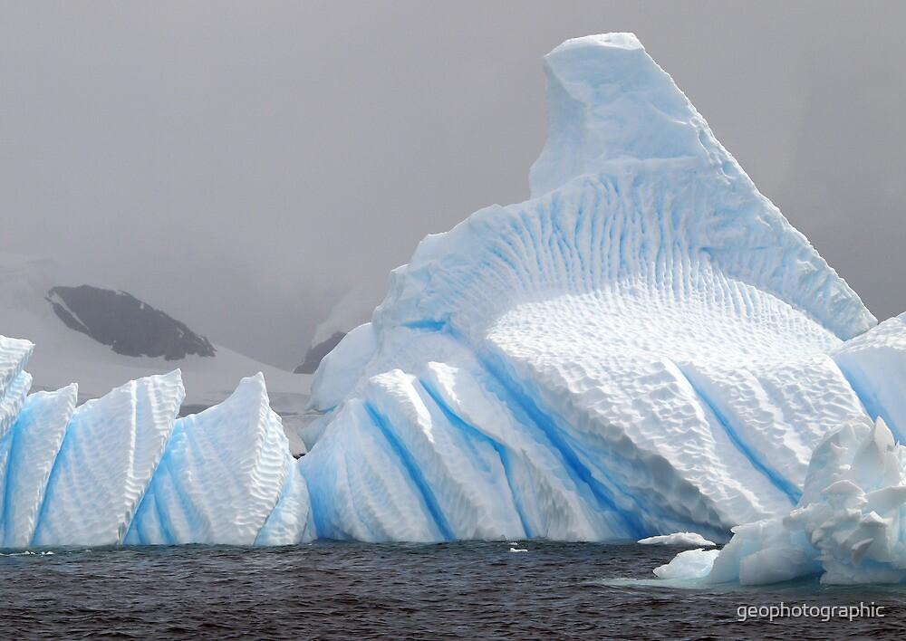 Bluebottle Iceberg , Antarctica by geophotographic