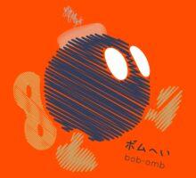 bob-omb -scribble- Kids Tee