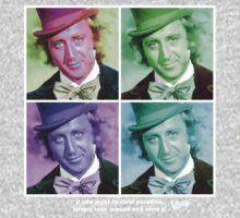 Willy Wonka Warhol One Piece - Long Sleeve