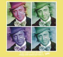 Willy Wonka Warhol Kids Clothes