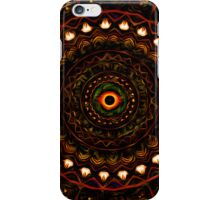 Kaleidoscope 4 Abstract Brown iPhone & ipod Case / Covers iPhone Case/Skin