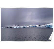 Pleneau Island , Antarctica Poster
