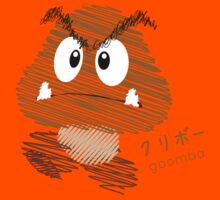 goomba -scribble- Kids Tee