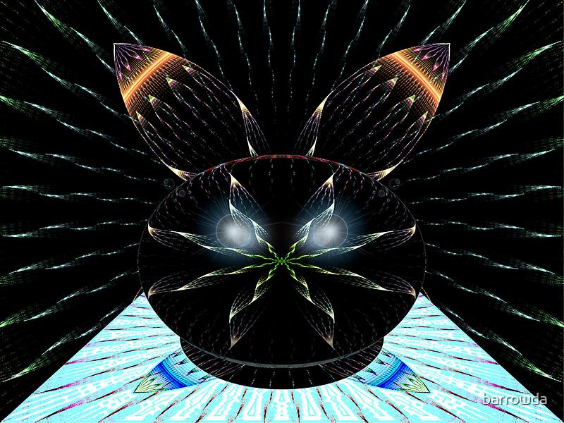 Bwraps7 DV #6:  Crystal Ball with Rabbit Ears  (UF0755) by barrowda