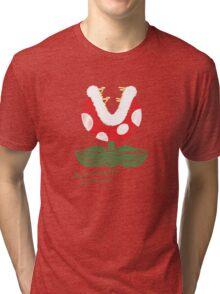 piranha plant -scribble- Tri-blend T-Shirt