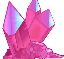 Pink Aura Quartz by YoungSovereign