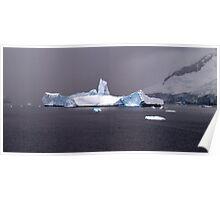 Iceberg Alley , Antarctica Poster