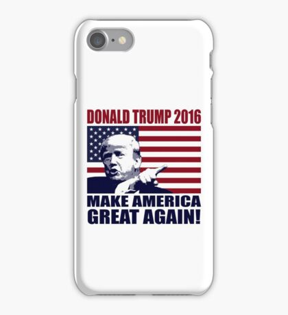 Donald Trump 2016 For President election 2016 iPhone Case/Skin