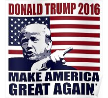 Donald Trump 2016 For President election 2016 Poster