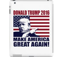 Donald Trump 2016 For President election 2016 iPad Case/Skin