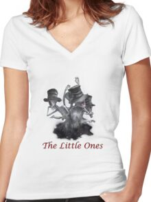 The Little Ones Women's Fitted V-Neck T-Shirt