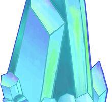 Blue Aura Quartz by YoungSovereign