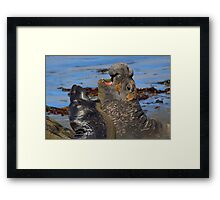 The Greeting Framed Print