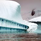Sculptural iceberg , Antarctica by geophotographic