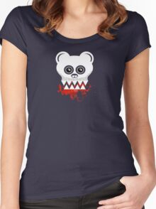 BEAR SKULL Women's Fitted Scoop T-Shirt