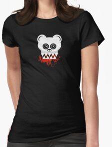 BEAR SKULL Womens Fitted T-Shirt