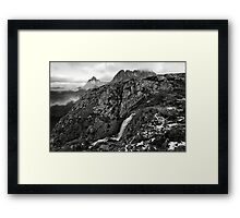The Big Plateau Creek Drop Framed Print