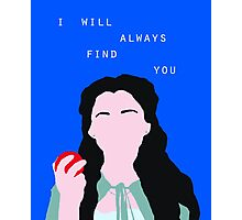 Snow White/Mary Margaret (Once Upon a Time) Photographic Print
