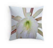 Epiphyllum On White, On Black Throw Pillow