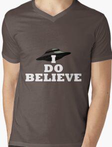 I Do Believe Mens V-Neck T-Shirt
