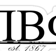 Pi Beta Phi Letters and Arrow Sticker