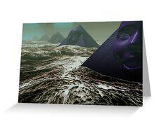 Pyramids of Sirius Greeting Card