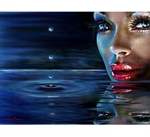 Brilliant Eyes Water Photographic Print