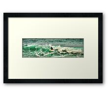 Bells Beach - HDR Framed Print