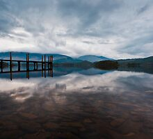 Early Morning Light - Derwentwater by David Lewins
