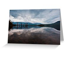 Early Morning Light - Derwentwater Greeting Card
