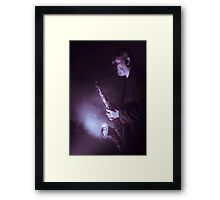 Your Sax is on Fire Framed Print