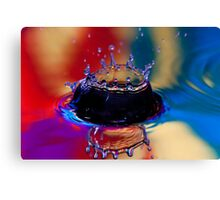 Colouful Coronet Canvas Print