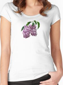 Pink Lilac Duo Women's Fitted Scoop T-Shirt