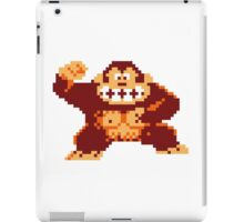 Donkey Kong Pixelated iPad Case/Skin