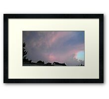 May 5 2012 Storm 111 Framed Print