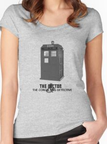Wholock - The Doctor and the Consulting Detective Women's Fitted Scoop T-Shirt