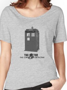 Wholock - The Doctor and the Consulting Detective Women's Relaxed Fit T-Shirt