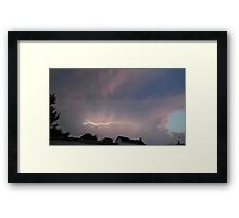 May 5 2012 Storm 117 Framed Print