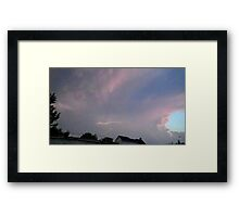 May 5 2012 Storm 120 Framed Print