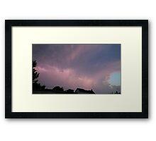 May 5 2012 Storm 123 Framed Print