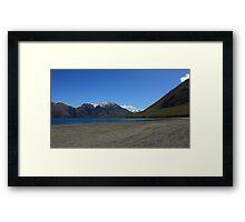 Lake Coleridge in spring Framed Print