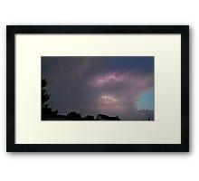May 5 2012 Storm 130 Framed Print