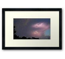 May 5 2012 Storm 131 Framed Print