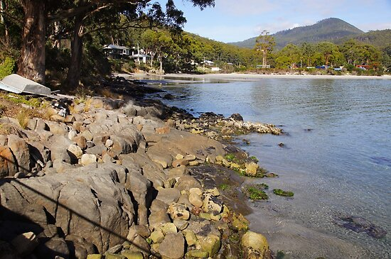 Beautiful Tasmania - Adventure Bay southern end by georgieboy98